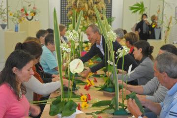 Cours d'art floral moderne