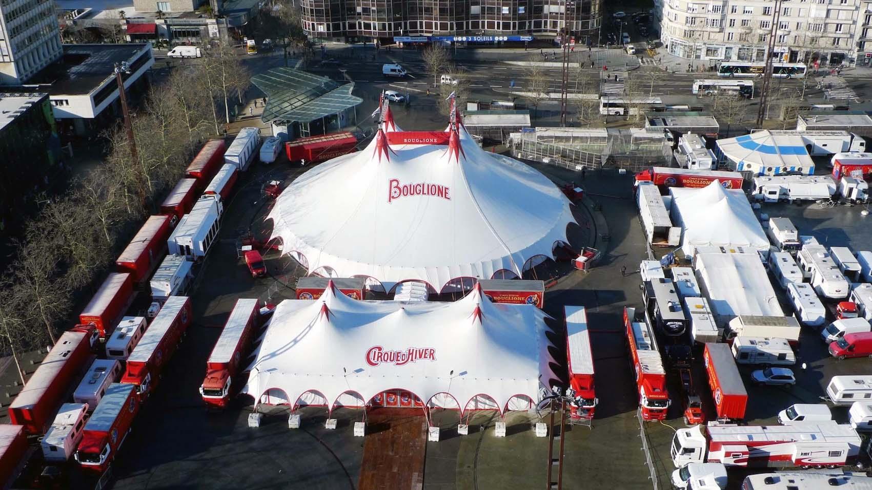 Des projets avec le prestigieux cirque Bouglione