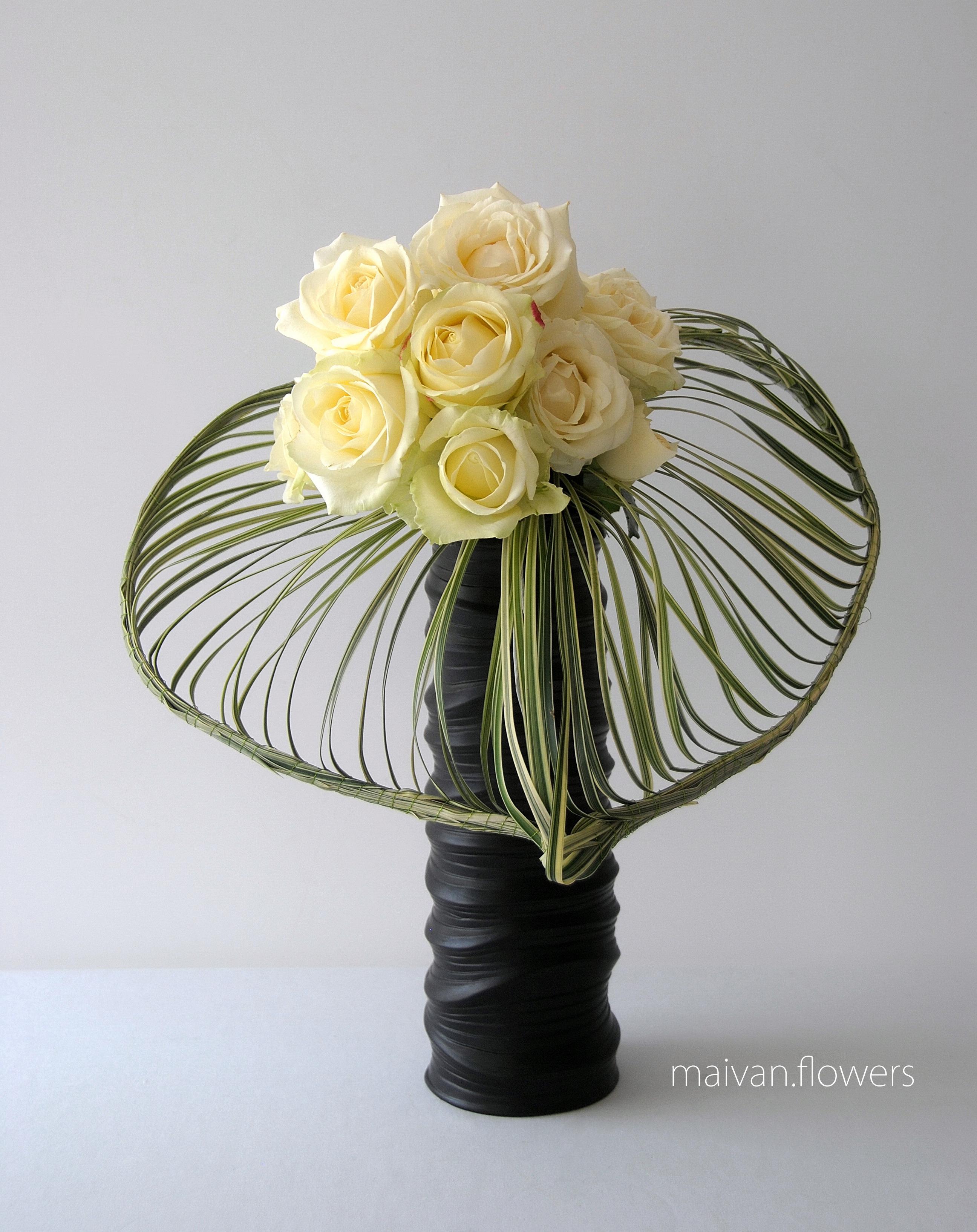 Fleurs en hommage à Johnny Hallyday