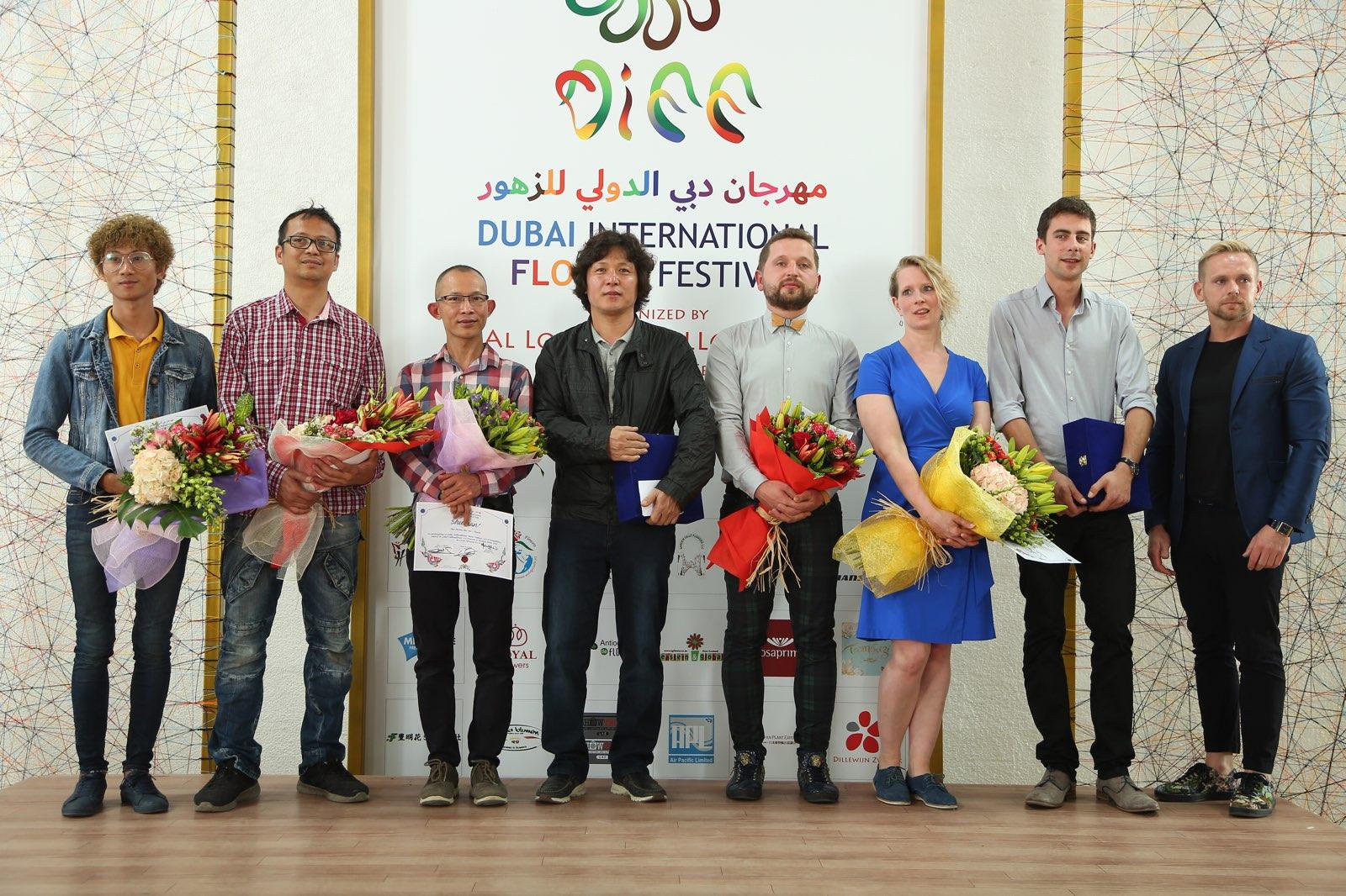 Dubai International Flower Festival DIFF2018